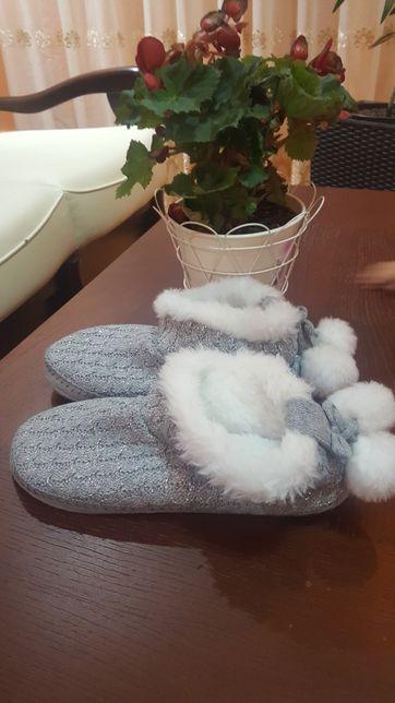 NOI! Papuci de casă căldurosi, ușori, pufosi & drăguți!