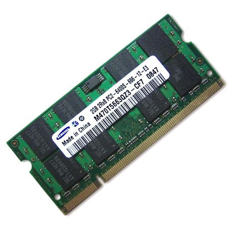 Memorii RAM Laptop 2Gb DDR2 800Mhz PC2-6400S Samsung