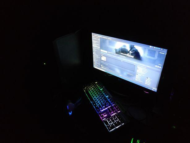 Компьютер в сборе, игровой