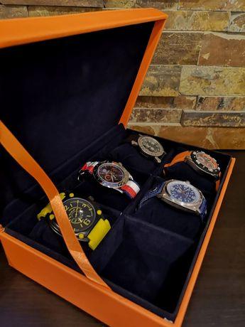 Cutie cadou pentru barbati cu 5 ceasuri Calgary Collection
