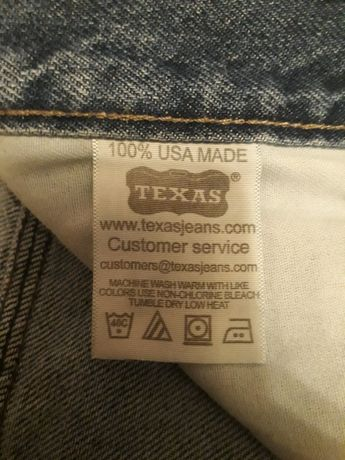 Джинсы Texas made in USA