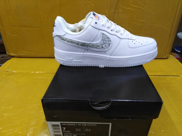 Nike air force just do IT pack white