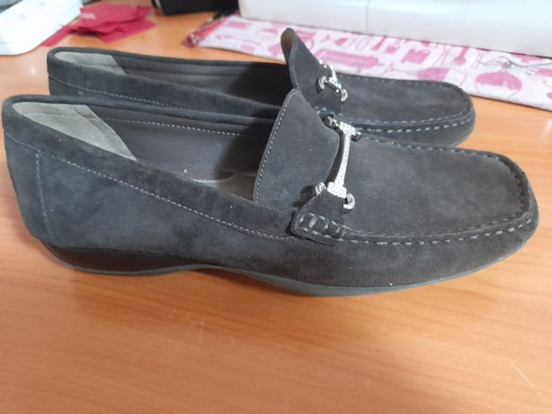 Туфли замшевые GEOX женские
