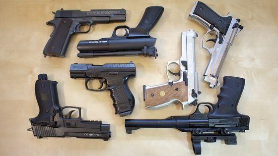 Pistol Ieftin!! CU AER COMPRIMAT MANUAL!! Spring Airsoft 6mmARCco2 gaz