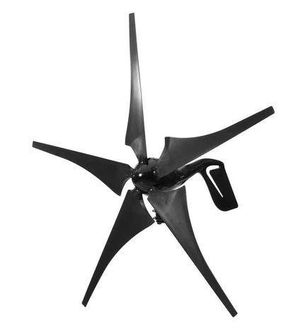 Turbina eoliana PE STOC, 12V sau 24V, 5 pale, regulator, pana la 1000W