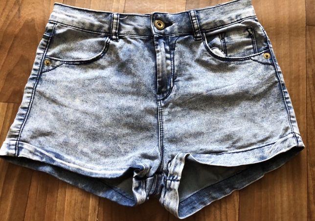 Pantaloni scurti denim Bershka