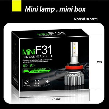 Kit becuri csp mini : D2S D2R-H1-H3-H7-H11-H8-H9-HB3-Hb4 HIR2 D1s D3S