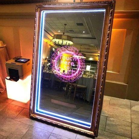 Oglinda magica , magic mirror aparate fumbaloane,confetti și artificii