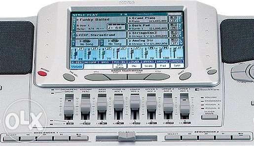 Program cu ritmuri si tonuri actualizate - Korg Pa1x PRO