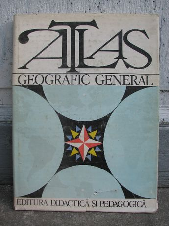 Atlas geografic general / Atlas geografic scolar