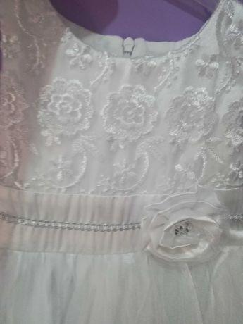 Официална детска рокличка+болеро подарък