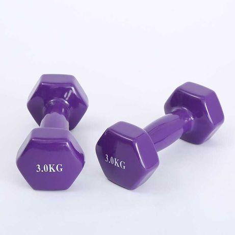 Фитнес Гири 2 бр х 3 кг , Комплект Гирички за Тренировка