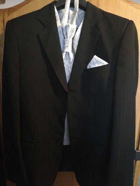 Costum mire/ocazie negru 5 piese 44