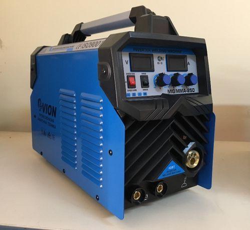 Телоподаващ апарат и електрожен 250А с редуцил вентил и тел 5кг.