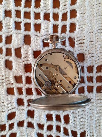 Ceas argint de buzunar elvetian