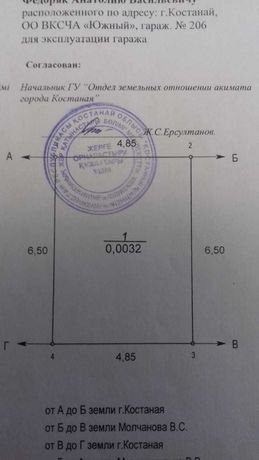 Гараж ГЭК-25 Южный