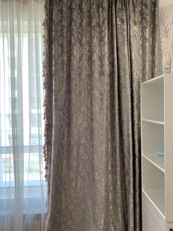 Продам теневые новые шторы, не подошли орнаментом .