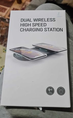 Incarcator Dual Wireles High Speed/Charging Station