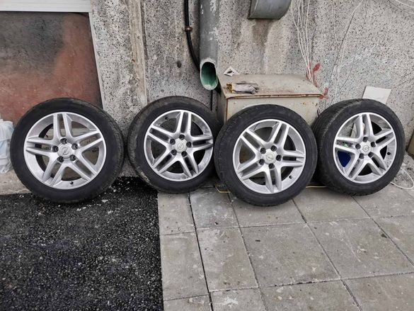 Джанти с гуми Опел Сааб Алфа Ромео 5x110 16