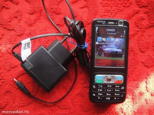 Nokia n73 / made in finland card 1gb, liber de retea