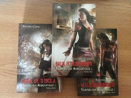 Vând set Vampirii din Morganville - primele 3 volume