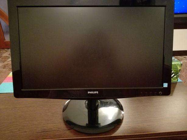 """Vand Monitor LED Philips 18.5"""", Wide, DVI, Negru, 196V3LSB5"""