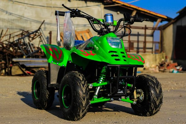ATV Electric pentru copii 7-14 ani, ECO Bigfoot 800W 36V #Green