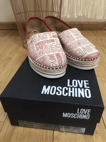 Espadrile Love Moschino