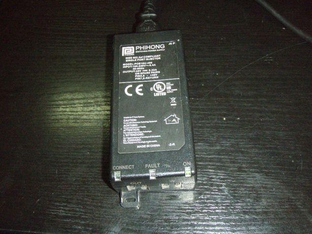 Alimentator injector PoE IEEE 802.3af 48V 0.32A Phihong POE16U-480