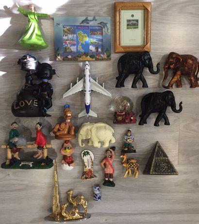 20 разных сувениров, от 500 тенге до 8000