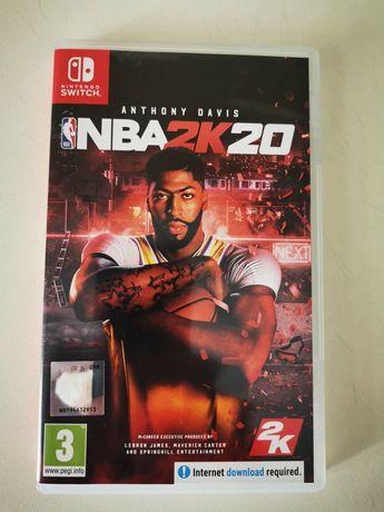 nintendo switch: joc NBA2K20