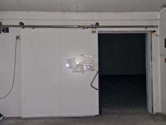 Плъзгаща врата за хладилна камера автоматична