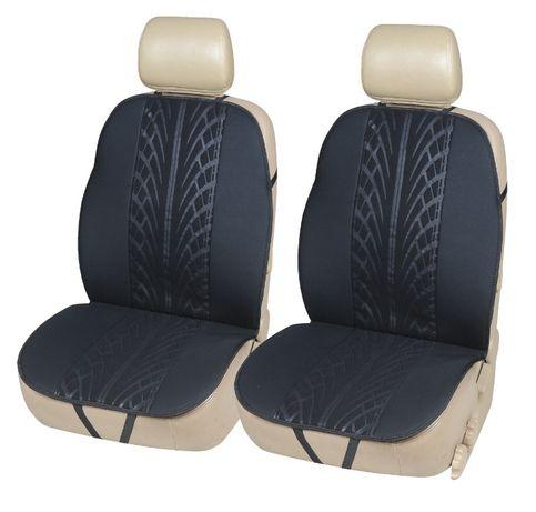 Комплект Авто Седалки Тапицерия Калъфи За Автомобил Бус Текстил Черни
