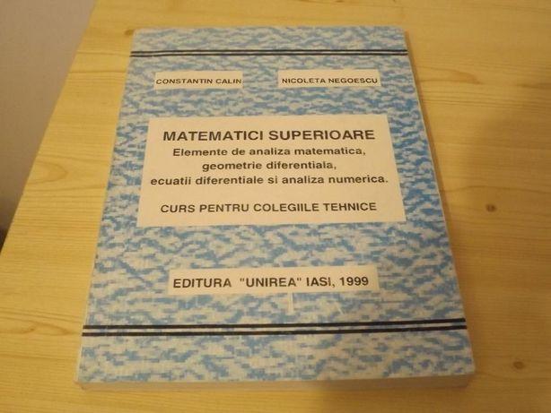 Matematici superioare Negoescu