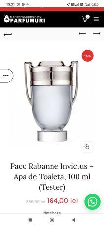 Parfumuri de lux invictus paco raban set set
