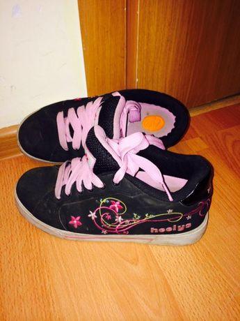 кроссовки Heelys для продвинутых девочек
