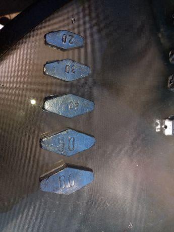Plumb culisant 20,30,40,50,60 grame