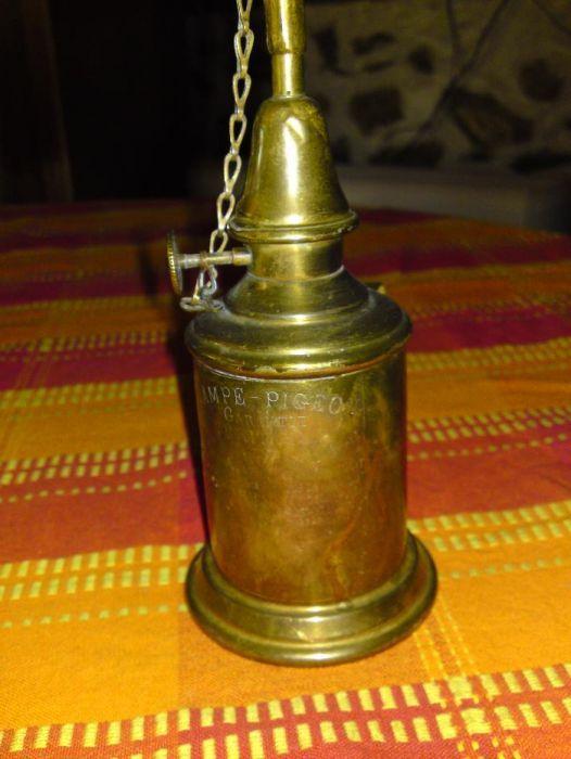Продавам Френска газена лампа от началото на 19ти век