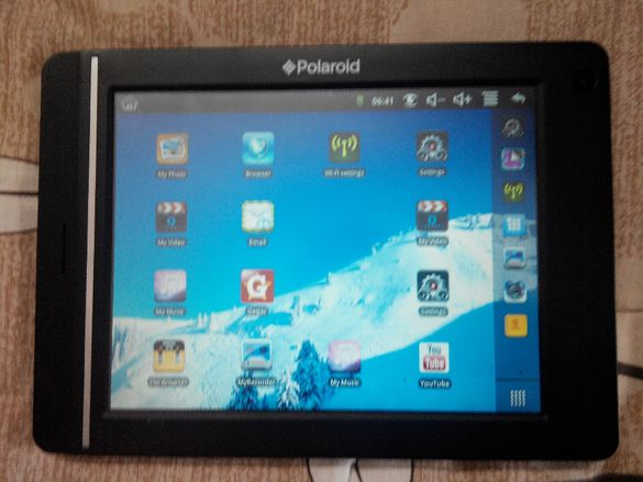 """Polaroid 8"""" Tablet Android 2.2 Oper.System Touch Нов"""
