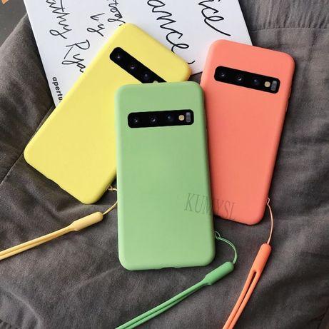 Матов Силиконов Кейс за Samsung Galaxy S10 S10e S9 A40 A50 A70 A30S