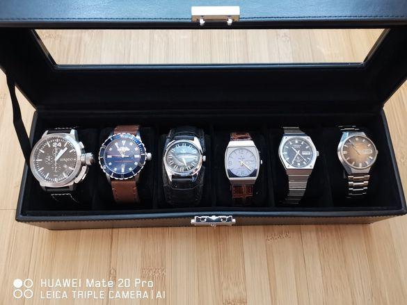 Лот часовници /Lukado/Armani Exchange/CAMY/RICOH/Citizen/Seiko 5