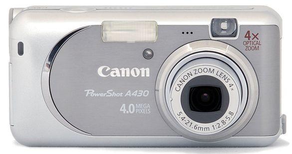 Фотоапарат Canon PowerShot А430 4.0 mega pixels