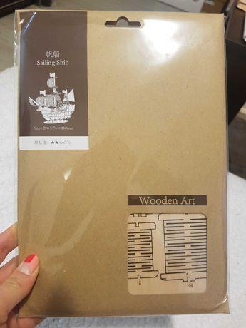 3D дървени пъзел комплекти - 3 вида