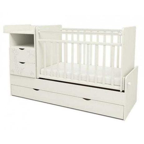 Детская кровать-трансформер skv-5 «Жираф»+бесплатная доставка