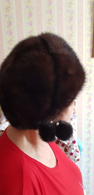 Продаю норковую шапку