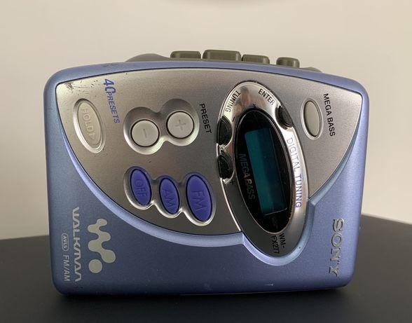 Walkman Sony WMFX277 Digital AM/FM Stereo Cassette