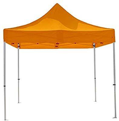 Cort pavilion pliabil 3×3 portocaliu Calitate premium!