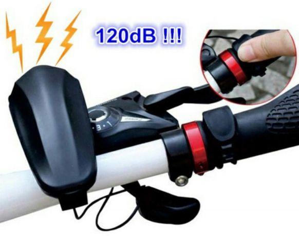Lanterna/far trotineta bicicleta si claxon puternic incarcare USB