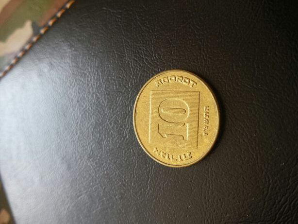Moneda10 AGOROT israel