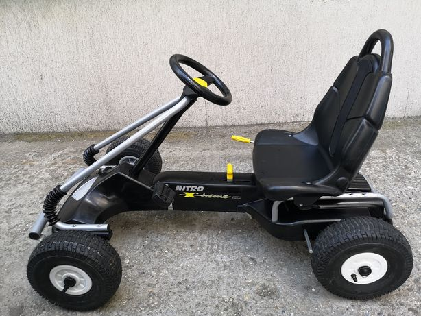 Kart/Cart cu pedale copii KETTLER NITRO-Xtreme (5-10 ani)